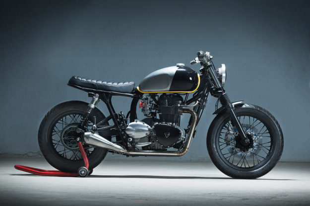Showstopper Kiddos Immaculate Triumph Bonneville Custom Classic