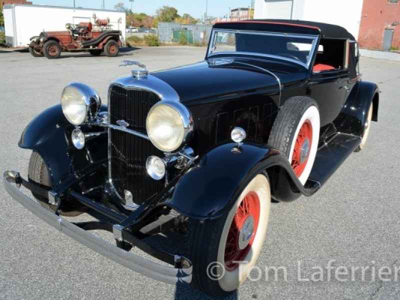 1932 Lincoln KB V-12 Coupe Roadster by LeBaron