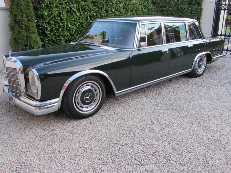 1971 Mercedes - Benz W100 600 Grosser