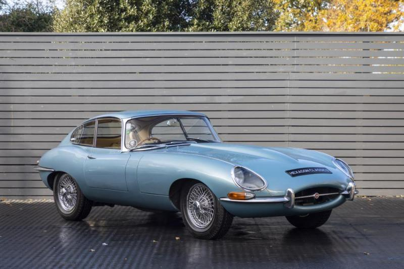 1965 Jaguar JAGUAR 4.2 LITRE E-TYPE FIXED HEAD COUPE, 1965