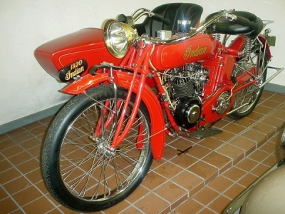 1920 Indian Power Plus Twin with Side Car