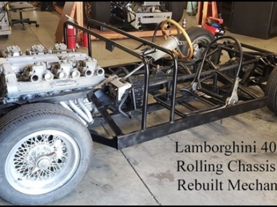 Lamborghini 400 GT Rolling Chassis & Mechanicals (Project)