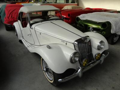 1954 MG TF 1500 white
