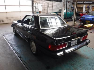 1988 Mercedes - Benz 560SL black ''88