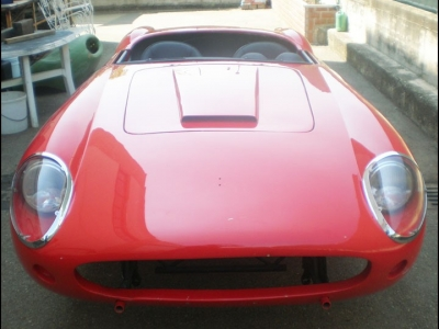 Ferrari 250 LWB California Spider -  Body and Accessories