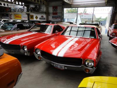 1969 AMX AMC red