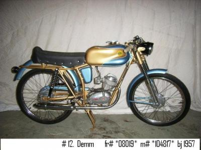 1957 Demm Moped #1