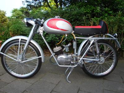 1955 Demm Moped #4