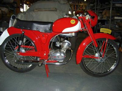 1960 Demm moped #8