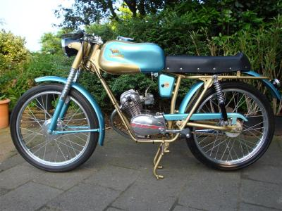 1960 Demm Moped #6