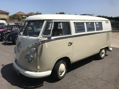 1963 Volkswagen 11-window Split Screen Camper Van