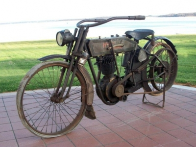1912 Harley Davidson Single