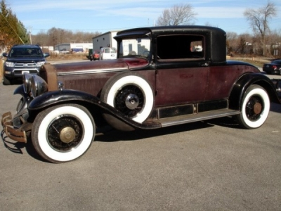1930 Cadillac Model 353 Fisher Rumble Seat Coupe