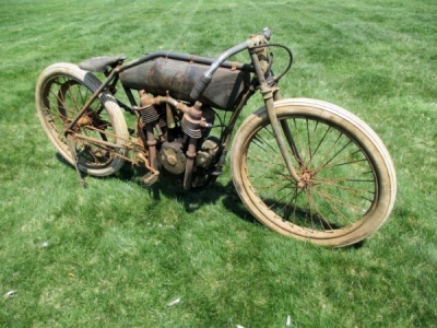 1911 Emblem Twin Factory Racer