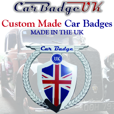 Car Badge UK 180 X 180