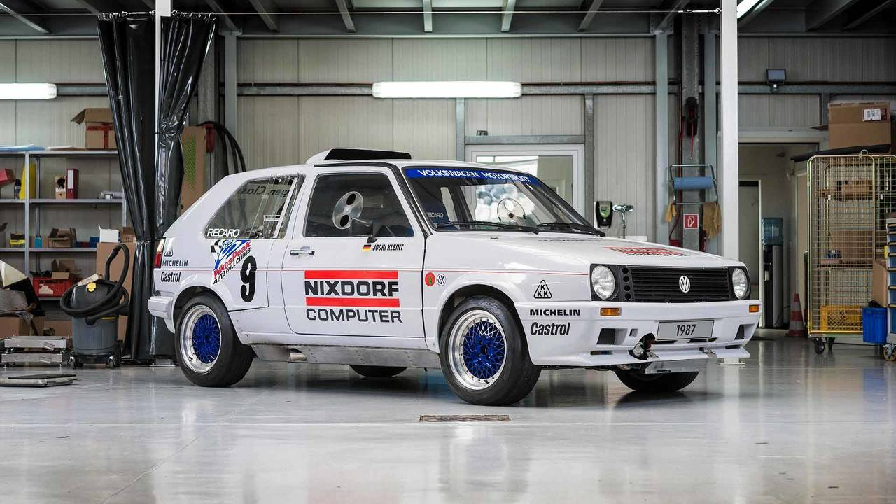 VW GTI Twin-Engine Rally Car