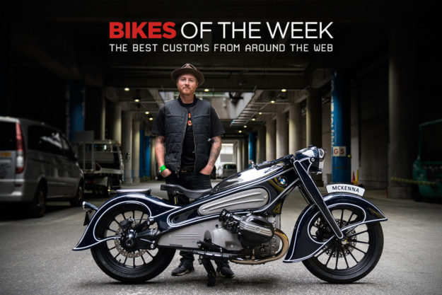 The best cafe racers, trackers and concept motorcycles of the week