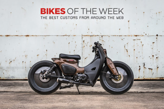 The best cafe racers, mopeds and kids