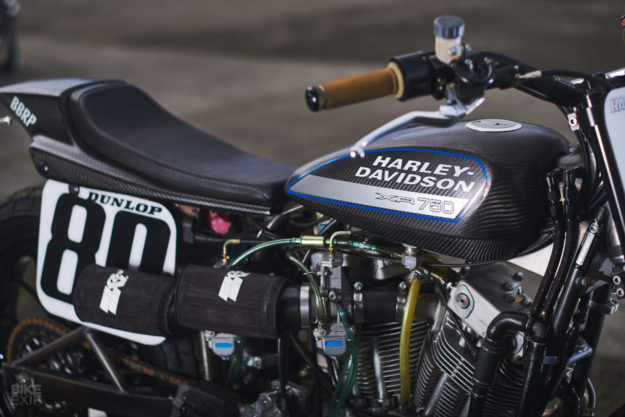 Street tracker gold: building a road-legal Harley XR750 street tracker