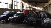 Brand new BMW 5 Series (E34) discovered in Bulgaria