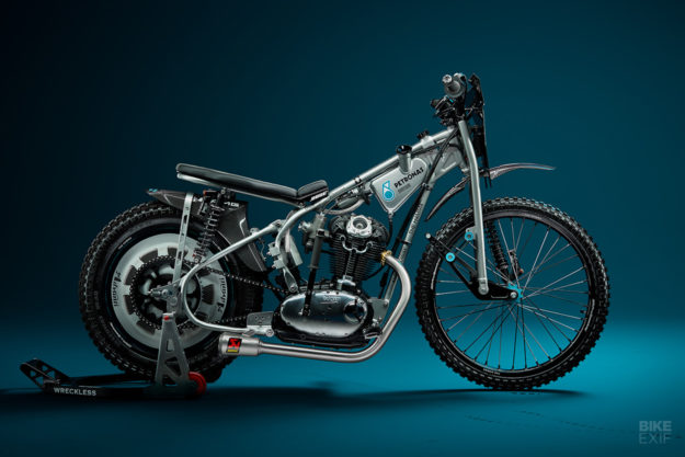 Ducati speedway motorcycle concept by Wreckless Motorcycles